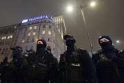 Protesty v Poľsku.