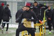 Marek Hamšík na tréningu Podbrezovej