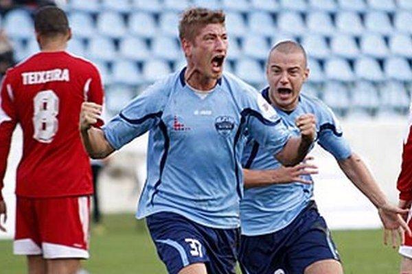 Tomáš Bagi otváral skóre vo víťaznom zápase s Banskou Bystricou.