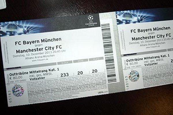 Patrik Andrášik už má dva lístky na atraktívny zápas Ligy majstrov medzi Bayernom Mníchov a Manchestrom City.