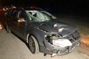 Chodca zrazilo auto na priechode.
