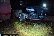 Mladý vodič šoféroval pod vplyvom alkoholu.