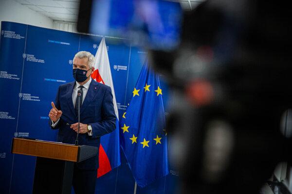 Šéf slovenskej diplomacie Ivan Korčok.