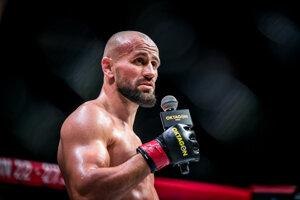Milan Paleš na turnaji Oktagon MMA: Last Man Standing.
