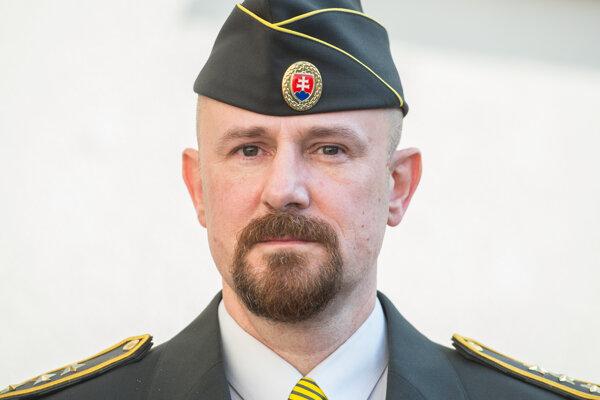 Nový generálny riaditeľ Zboru väzenskej a justičnej stráže Róbert Mudronček.