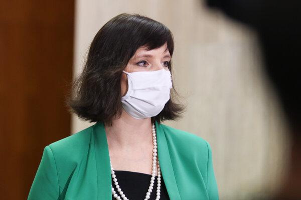 Vicepremiérka a líderka strany Za ľudí Veronika Remišová.
