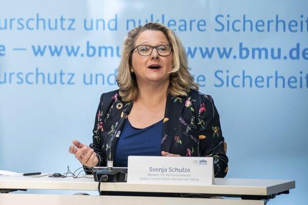 Nemecká ministerka životného prostredia Svenja Schulzová.