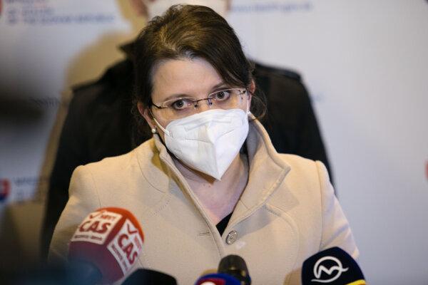 Štátna tajomníčka ministerstva zdravotníctva Jana Ježíková.