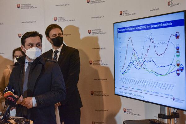 Situácia na Slovensku sa podľa dočasného ministra zdravotníctva Eduarda Hegera a štátneho tajomníka Petra Stachuru zlepšuje.