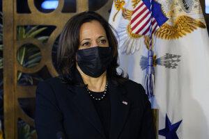 Viceprezidentka USA Kamala Harrisová.