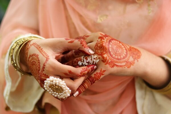 Ilustračné foto - henna