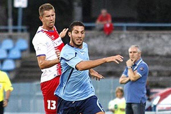 Eric Barroso Sanchez proti Zlatým Moravciam strelil svoj prvý gól za nový klub.