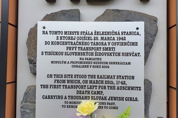 Spomienka na 79. výročie od prvého transportu.