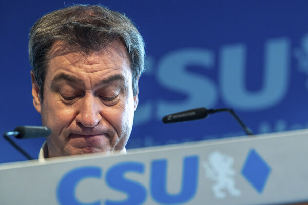 Predseda CSU Markus Söder.