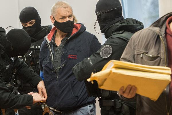 Obžalovaný Lehel Horváth na súde.