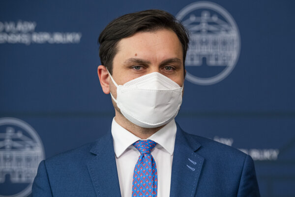 Štátny tajomník Ministerstva zdravotníctva SR Peter Stachura.