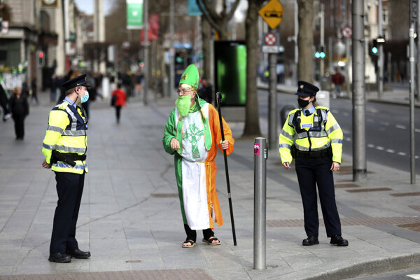 Koronavírus v Írsku