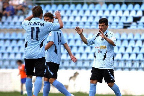 Futbalisti FC Nitra proti Brnu zmazali dvojgólové manko.