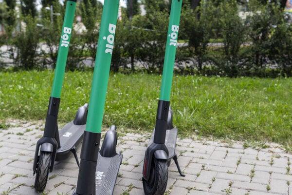 Elektrokolobežky budú môct využívať Martinčania i návštevníci mesta.