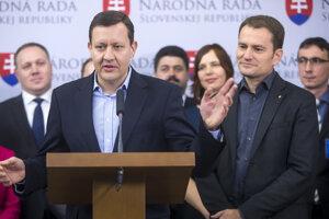 07. december 2015, Bratislava. Predstavenie kandidátky OĽANO NOVA do volieb 2016.