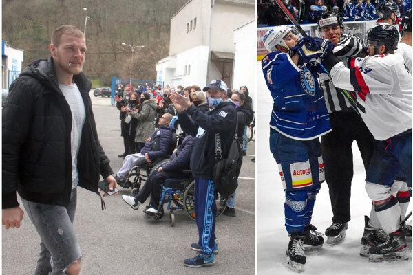 Hokejistov Nitry pohnal do boja aplauz fanúšikov, proti Slovanu sa potom nebáli strkaníc, ale favorit mal navrch.
