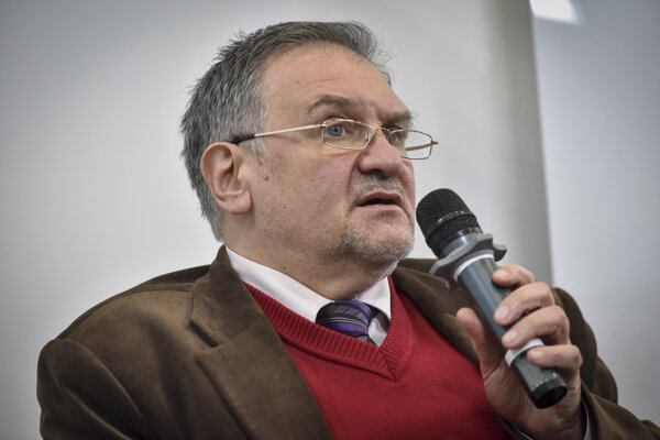 Ukrajinský politológ Olexij Haraň.