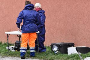 Na miesto prišli aj chemici civilnej ochrany,