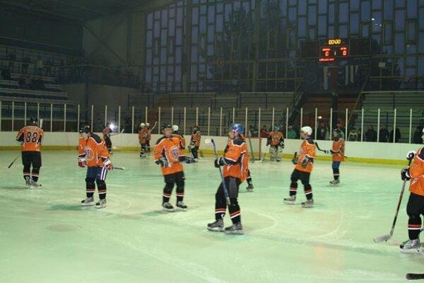 Zimný štadión v Dubnici nad Váhom.