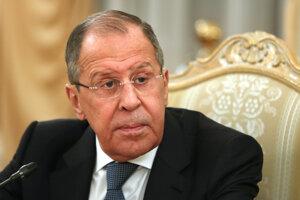Ruský minister zahraničia Sergej Lavrov.