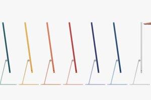 Apple sa túto jar zameral na farby dúhy.