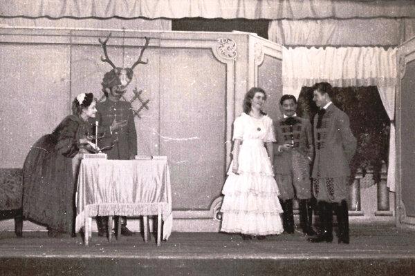 Hra Dobrodružstvo pri obžinkoch z roku 1962.