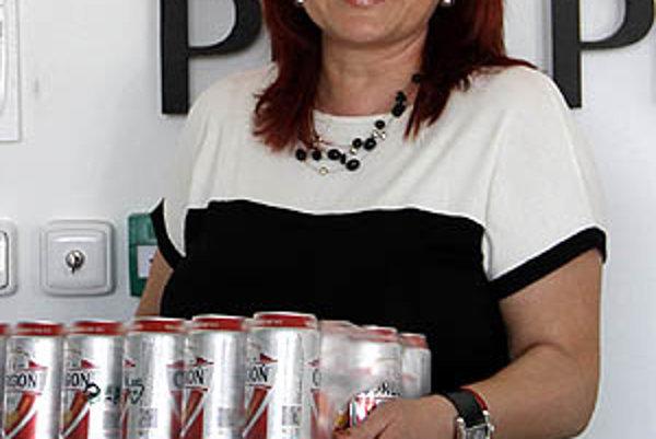 Pre kartón piva Corgoň si ako prvá v tejto súťaži prišla Mária Balážová z Dražoviec.