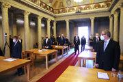 Rokovanie župy preniesol Trnka z magistrátu do Východoslovenskej galérie.