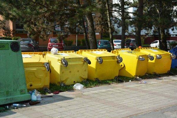 Vyčínanie vandalov v Trenčianskych Tepliciach.