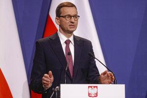 Poľský premiér Matteusz Morawiecki.