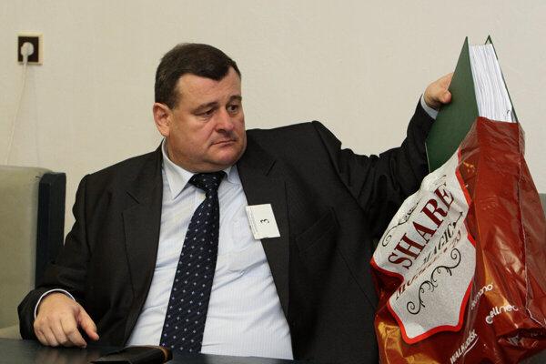 Štefan Duč na súdnom pojednávaní v roku 2016.