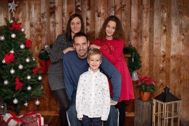 Ivana Vargu doma čaká krásna rodinka - manželka Lucka, dcéra Sofinka a syn Lukáško.
