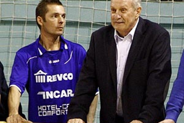 Incar Revco Team na turnaji viedli Milan Lešický (vpravo) a Dušan Marčan.