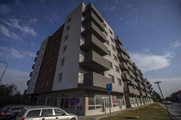 Bytovka Glance House v Bernolákove.