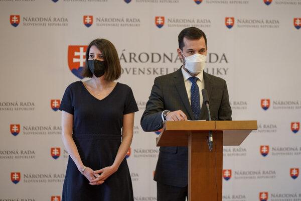 Juraj Šeliga a Jana Žitňanská.
