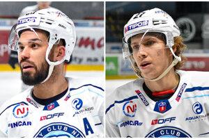 Marek Slovák a Andrej Kollár - teda druhý a tretí najproduktívnejší hokejista Nitry v uplynulej sezóne - sú na odchode.