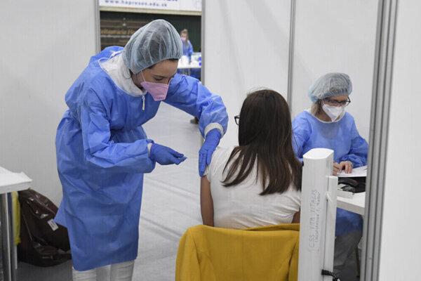 Očkovanie v Prešove.