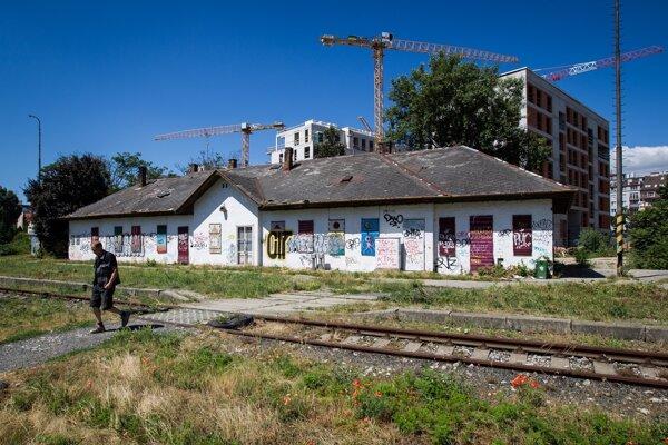 Filiálka železničnej stanice neďaleko Trnavského mýta.