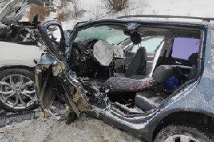 Dopravná nehoda v Kraľovanoch.