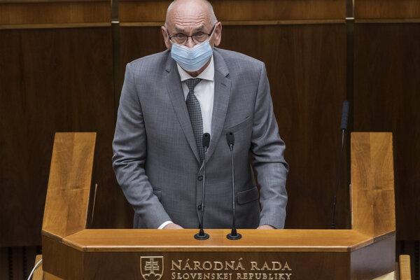 Predseda Najvyššieho kontrolného úradu (NKÚ) SR Karol Mitrík.