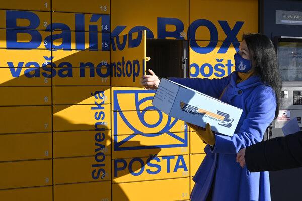 Slovenská pošta má aktuálne viac ako 130 balíkoboxov.