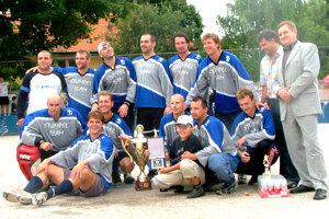 2004: Hokejbalový Stümpel team.
