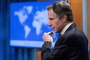Americký minister zahraničných vecí Anthony Blinken.