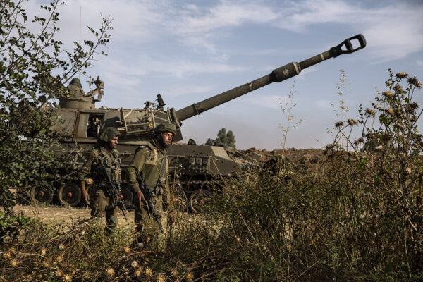 Dvaja izraelskí vojaci.