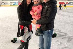 S manželkou Simonou a dcérkou Simonkou.